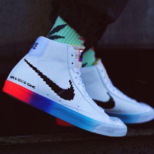 �\�有�微信代理商Nike Blazer �玩DC3280-101�D片
