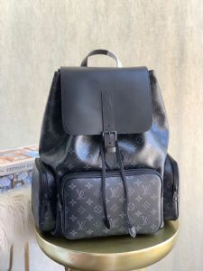 M45670黑花TRIO 双肩包 Trio 广州原版包包高档货源
