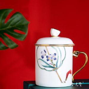 定做单位纪念茶杯,学院建校留念礼品茶杯子