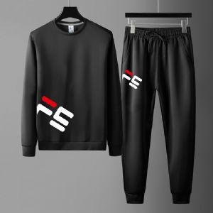 2020新款秋季休闲运动套装男士韩版潮流帅气男装卫衣两件套装