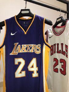 篮球运动服NBA球衣批发 热压版NFC芯片扫描