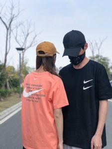 NIKE/耐克 双勾应季纯棉圆领短袖