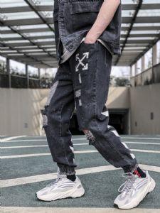 Off-White 做旧牛仔裤