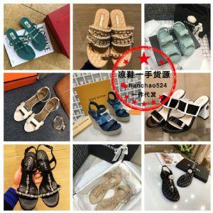 微商兼职实体批发女鞋高跟凉鞋平底凉鞋厂家代发免费代理图片