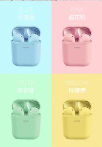 深圳工厂批发新款马卡龙立体声运动蓝牙耳机车载免提音乐耳机
