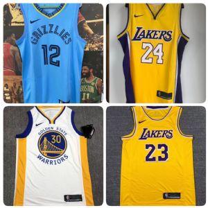 专注于篮球运动服NBA球衣加工生产批发 支持NFC芯片感应扫描