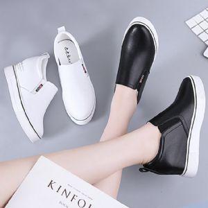 内增高女鞋批发 2020春季新款小白鞋厂家图片