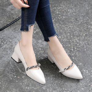商务风格小单鞋代理,上班族女鞋批发图片