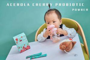 孩子免疫力差,肠胃不好,就喝董欣儿童针叶樱桃益生菌调理图片
