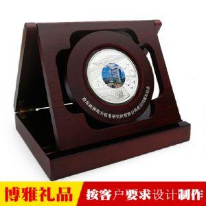 纪念币 纯银纪念币 开业庆典银币 周年庆纪念品