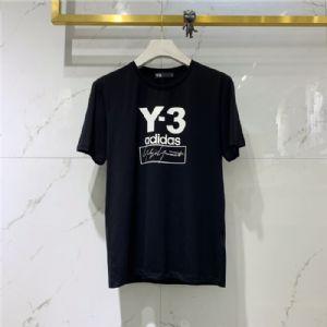 Y3男装短袖高档男装一件代发高级品质丝光棉