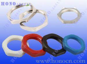 上海焕诺电气HONO尼龙螺母,黄铜镀镍螺母,黄铜镀镍屏蔽母