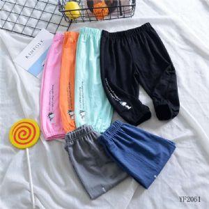 兔子杰罗儿童休闲裤夏季新款男女童针织短裤