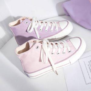 高帮帆布鞋批发,温州工厂专业生产休闲高帮鞋