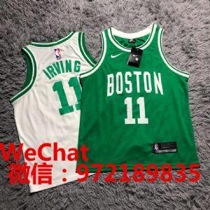 耐克nba凯尔特人欧文篮球服球衣厂家直销批发价格图片