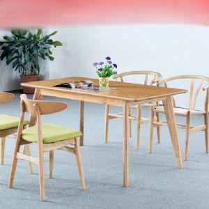 梯台屏磨倾柱桌 桂林欧板木家具 贺州商谈会餐桌