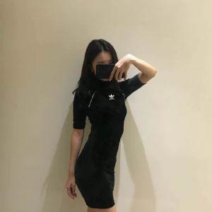825860三叶女裙