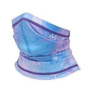 夏季户外骑行头巾印花星空多功能围脖冰丝骑行魔术头巾透气面罩