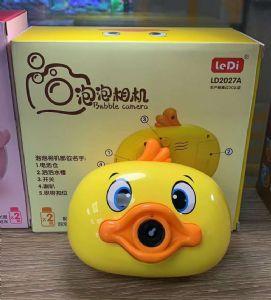 儿童创意玩具自动泡泡机 网红同款卡通熊猫小猪佩奇泡泡相机