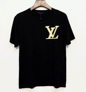 L~V男装短袖T恤2020夏季新款高档男装批发零售货源