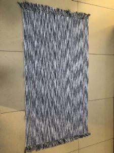 欧美风涤纶平织毯