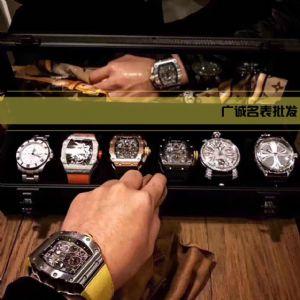广州高档手表批发 9年厂家直销 免费代理 包邮送盒  一件代发