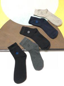 商端外贸工厂袜子图片