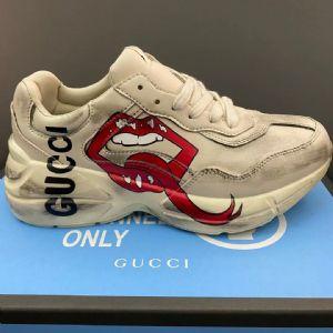 Gucci Rhyton老爹鞋36-44  原盒高�|量工�S